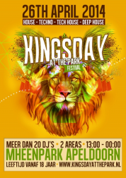 KINGSDAY at the park